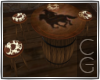 CG| Country Barrel Table