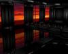 Reflective Sunset Room