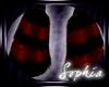 Blck/Red Demoness Boots