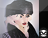 m> Posh Fur Hat Black