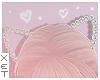 ✘ cat pearl ears