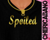 Spoiled Gold Necklace (M