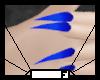 Nails - Blue