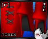 [F] Red TXL Boots