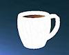 {AK} white coffee mug
