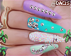 d. babe nails mix