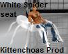 White spider seat
