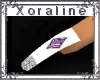 (XL)White/Purple Ameth