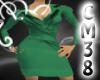 [C]Eleganca Green Dress