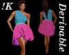 !K!Balloon Sparkle Dress
