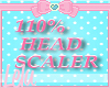 Kids 110  % Head Scaler