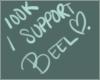 I Support Beel 100k