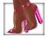 LKC Clear Pink Heels