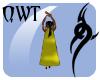 QWT Storm Cape ~ Yellow