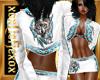 [L] White WOLF 2 Skirt F