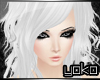 [YK] Jeccica white hair