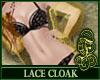 Lace Cloak Yellow
