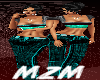 MzM Wide Leg Turquoise