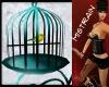 ! BIRD CAGE WITH BIRD