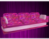 Pink to Purple Couch