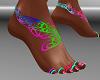 FG~ Neon Lace Feet