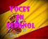 Voces en español