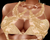 Gold overlay For Tops