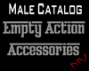 Empty Male Action