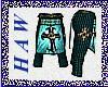 Holy Sea Green Pants
