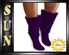 [SUN] Dark Purple Boots