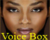 Woman Voice Box