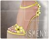 [Is] Wedges Sandal Yello