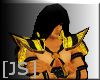[JS] Shoulder Armor Gold