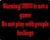 Warning imvu