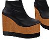 D+ Wood Platform Boots