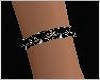 2 Black Dainty Bracelets