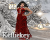 Christmas Red Gown