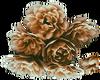 Brown Flowers -L