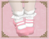 A: Pink Mary Janes