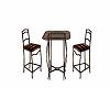 Brn.Bronze Kitchen Table