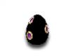 Black Spotted Egg
