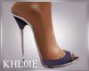 K aly puple heels