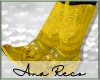 A Yellow Cowboy Boots