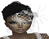 SCP-Bridal BirdCage+Hair