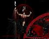 LXF Cage GA black red
