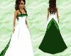 Emerald  Wedding Gown