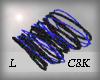 C8K BluenBlack Bangle L