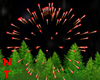 NT  Real Red Fireworks