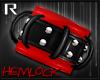 H3M: Wrist Cuff Red R