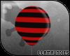 $lu Balloon! Black Red